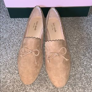 Kate Spade Jaen scalloped loafers 8.5